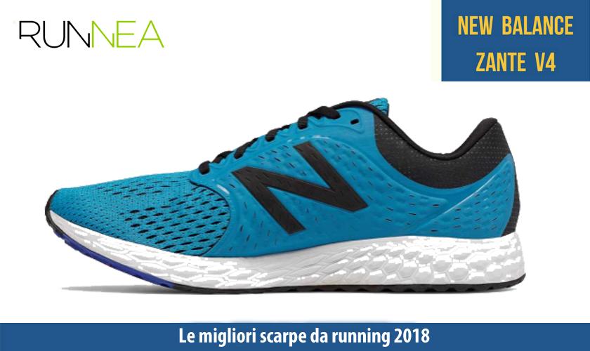 migliori scarpe da running 2018 New Balance Fresh Foam Zante v4