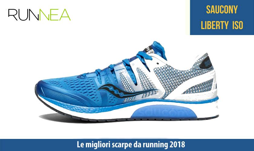 migliori scarpe da running 2018 Saucony Liberty ISO