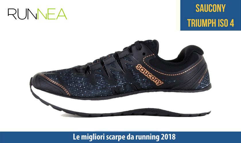 migliori scarpe da running 2018 Saucony Triumph ISO 4