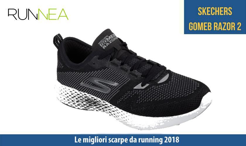 migliori scarpe da running 2018 Skechers GOmeb Razor 2