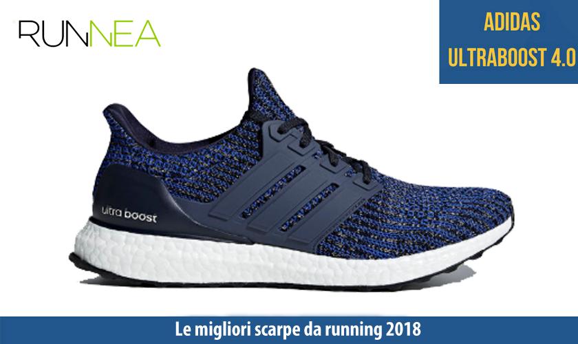 migliori scarpe da running 2018 Adidas Boost 4.0