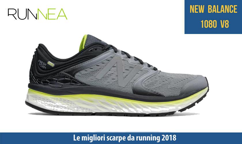 migliori scarpe da running 2018 New Balance Fresh Foam 1080v8