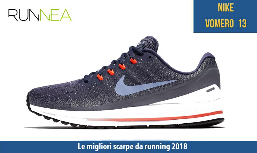 migliori scarpe da running 2018 Nike Air Zoom Vomero 13