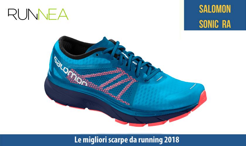 migliori scarpe da running 2018 Salomon Sonic RA