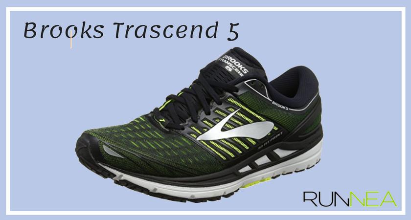 Le 12 migliore scarpe running per pronatori 2018 Brooks Trascend 5