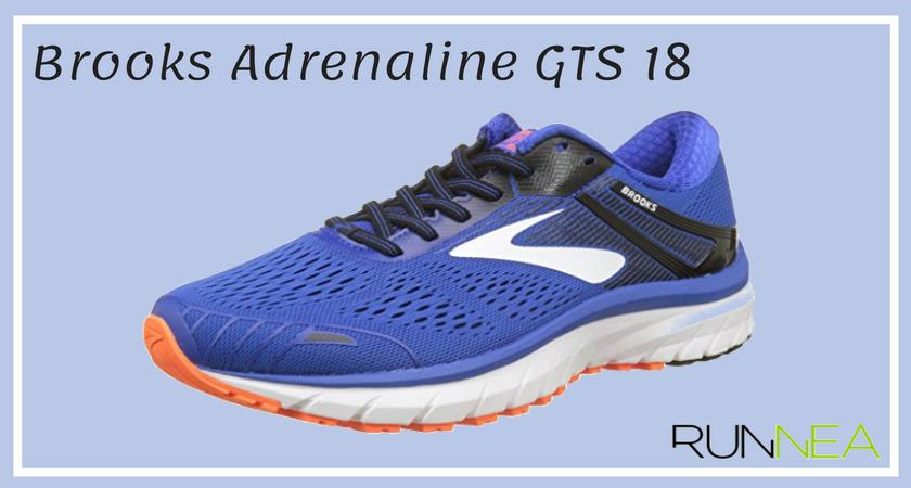 Le 12 migliore scarpe running per pronatori 2018 Brooks Adrenaline GTS 18