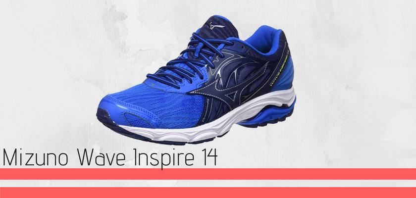 Le 12 migliori scarpe di pronazione 2018, Mizuno Wave Inspire 14