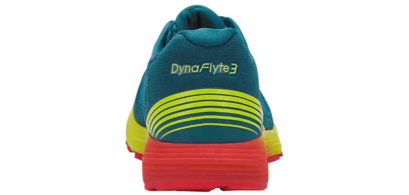 Asics Dynaflyte 3: tallone