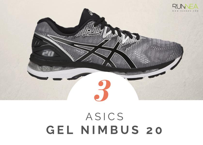 Scarpe da running massima ammortizzazione 2018 per i corridori neutri: Asics Gel Nimbus 20