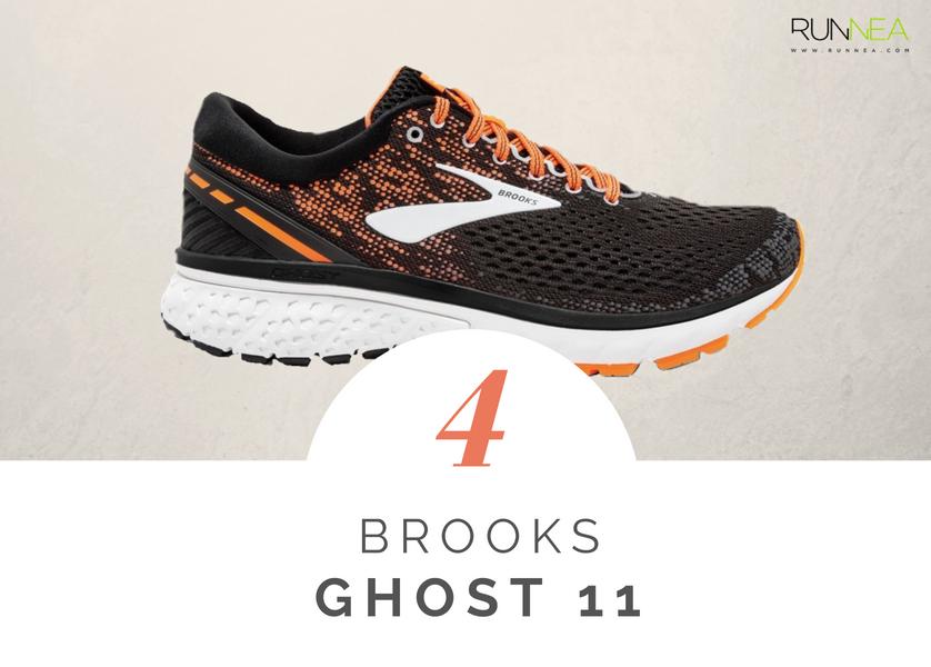 Scarpe da running massima ammortizzazione 2018 per i corridori neutri: Brooks Ghost 11