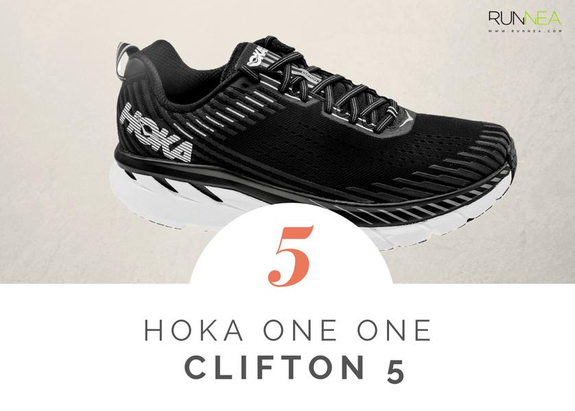 Scarpe da running massima ammortizzazione 2018 per i corridori neutri: Hoka One One Clifton 5