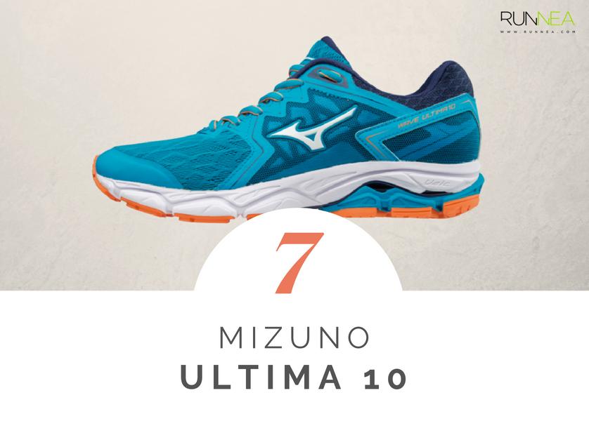 Scarpe da running massima ammortizzazione 2018 per i corridori neutri: Mizuno Ultima 10