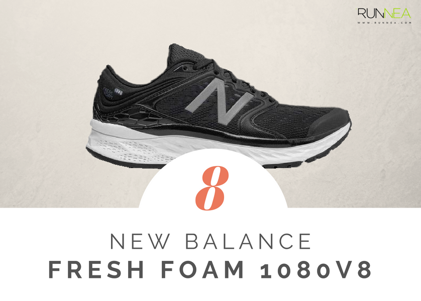 Scarpe da running massima ammortizzazione 2018 per i corridori neutri: New Balance Fresh Foam 1080 v8
