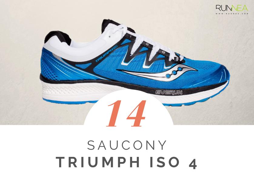 Scarpe da running massima ammortizzazione 2018 per i corridori neutri: Saucony Triumph ISO 4