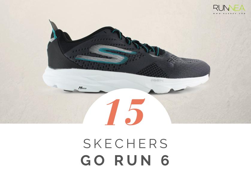 Scarpe da running massima ammortizzazione 2018 per i corridori neutri: Skechers GOrun 6