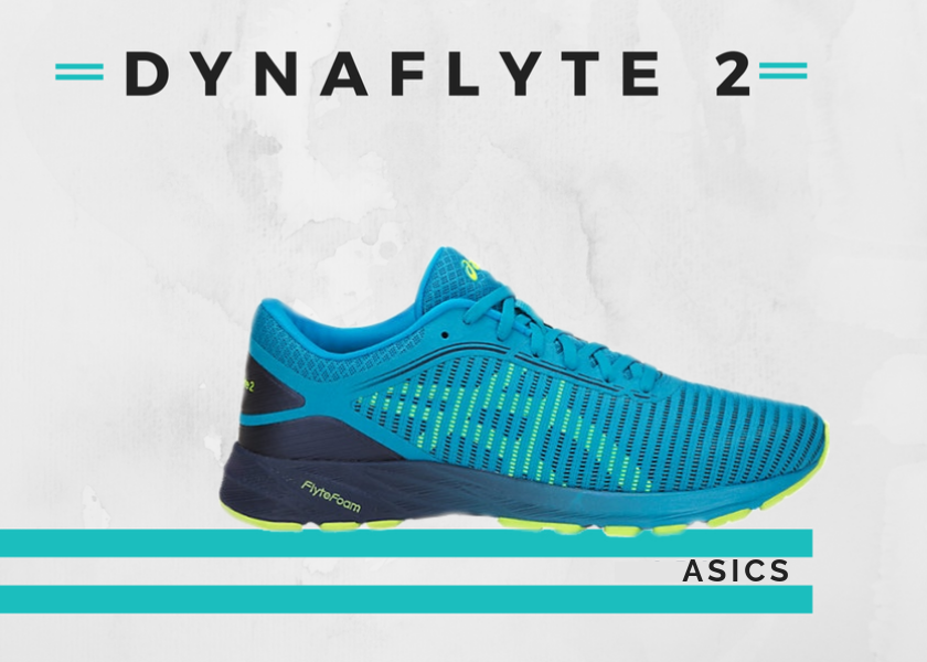 Le 10 migliori scarpe running per fare un buon tempo nella 10K, Asics Dynaflyte 2