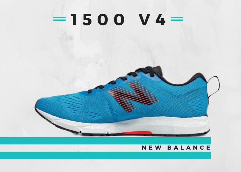 Le 10 migliori scarpe running per fare un buon tempo nella 10K, New Balance 1500 v4