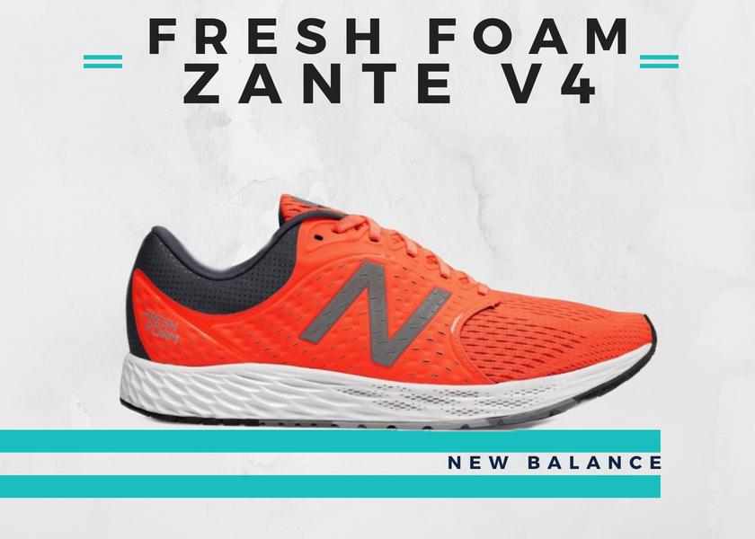 Le 10 migliori scarpe running per fare un buon tempo nella 10K, New Balance Fresh Foam Zante V4