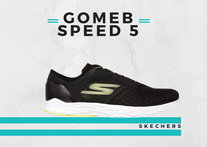 Le 10 migliori scarpe running per fare un buon tempo nella 10K, Skechers GoMeb Speed 5