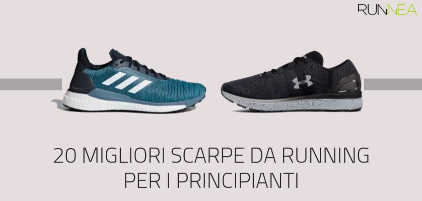 Le migliori scarpe da running per i corridori principianti