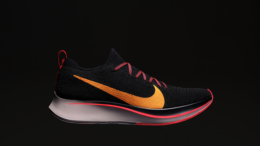 Nike Zoom Fly Flyknit, un look molto diverso