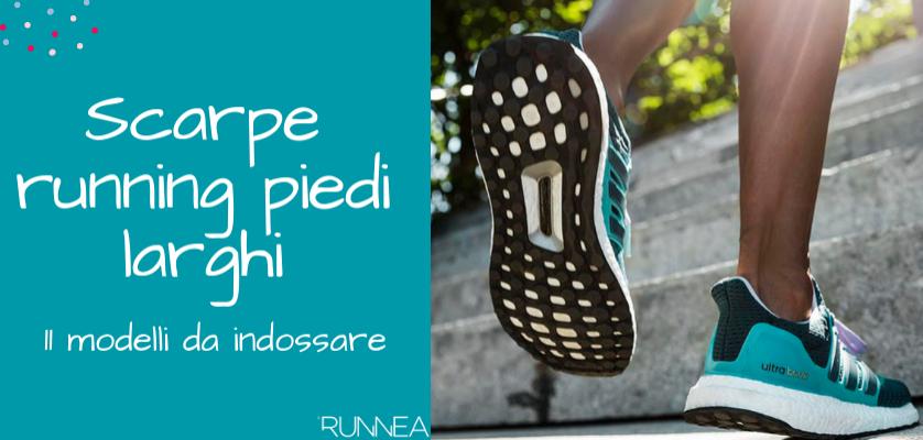 online store cf9d4 48b6b Le migliori scarpe da running per i corridori con piedi larghi