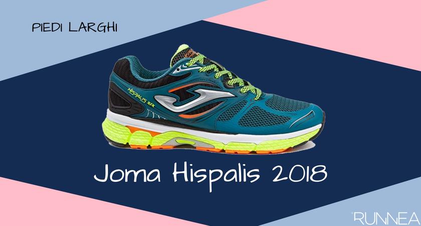 Scarpe da running per i corridori con piedi larghi, Joma Hispalis 2018