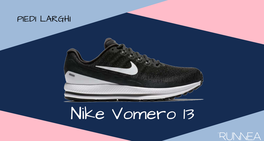 Scarpe da running per i corridori con piedi larghi, Nike Vomero 13