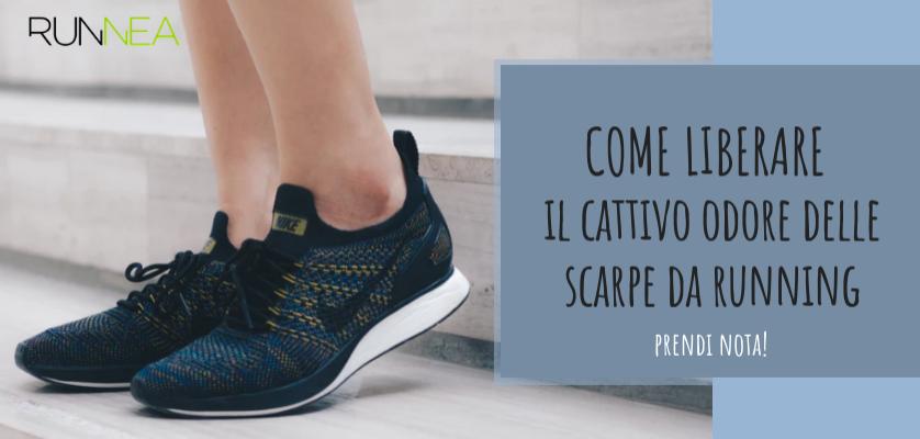 analogico Parassita Mercurio  Come evitare il cattivo odore delle tue scarpe da running