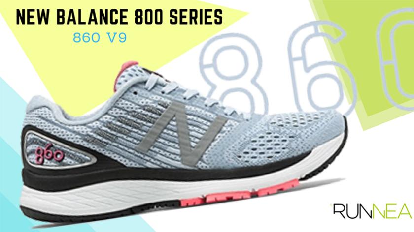 New Balance 800 Serie: scarpe da running create per offrirti il supporto di cui hai tanto bisogno, New Balance 860 v9