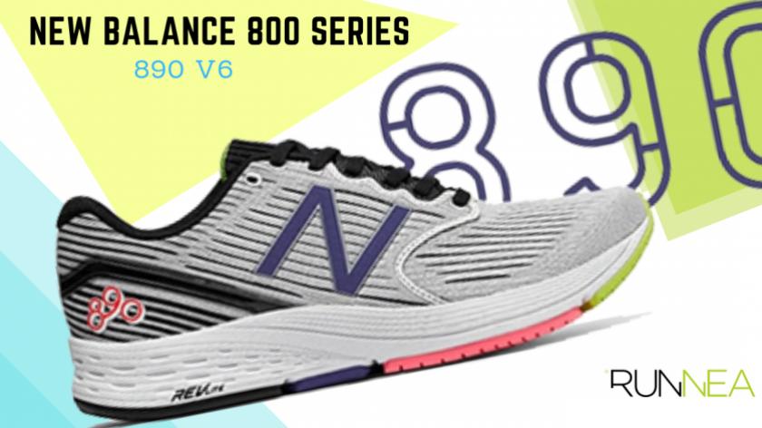 New Balance 800 Serie: scarpe da running create per offrirti il supporto di cui hai tanto bisogno, New Balance 890 v6
