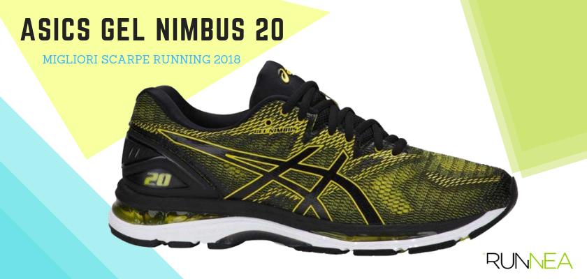 Le migliori scarpe da running 2018, Asics Gel Nimbus 20