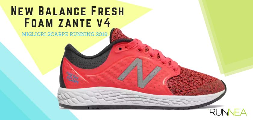 Le migliori scarpe da running 2018, New Balance Fresh Foam Zante v4