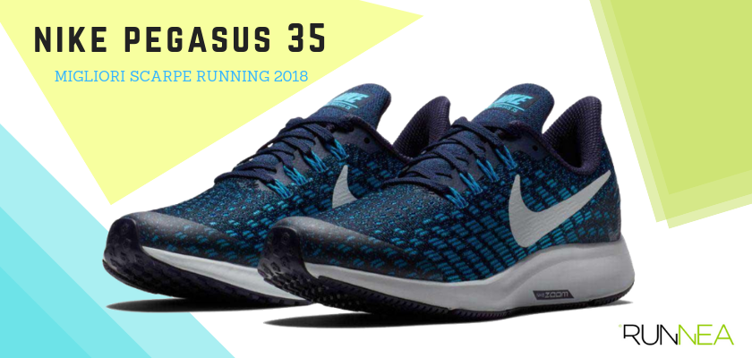Le migliori scarpe da running 2018, Nike Pegasus 35