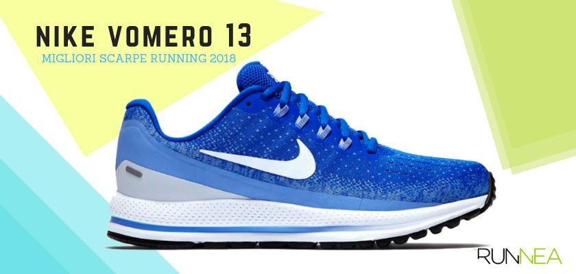 Le migliori scarpe da running 2018, Nike Air Zoom Vomero 13