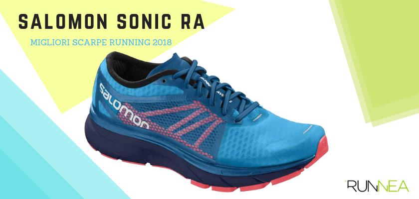 Le migliori scarpe da running 2018, Salomon Sonic RA
