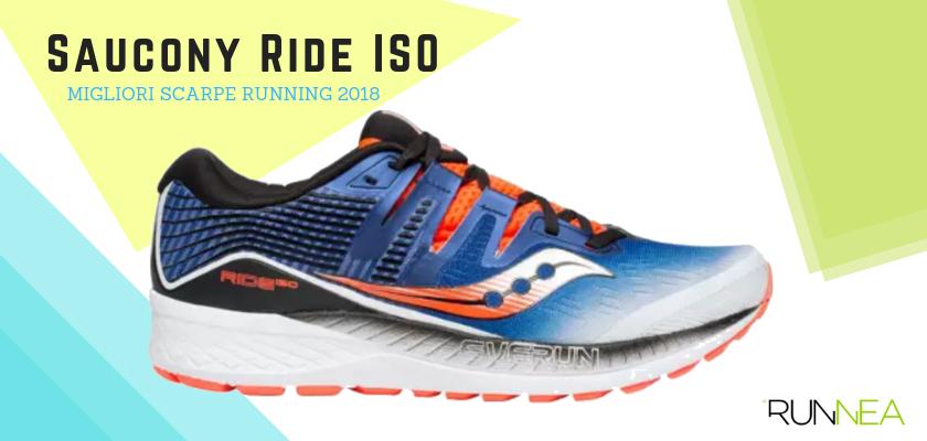 Le migliori scarpe da running 2018, Saucony Ride ISO