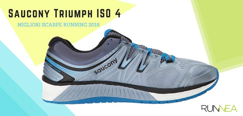 Le migliori scarpe da running 2018, Saucony Triumph ISO 4
