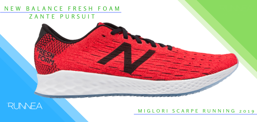 ca60abe1d9 Le migliori scarpe da running 2019, New Balance Fresh Foam Zante Pursuit
