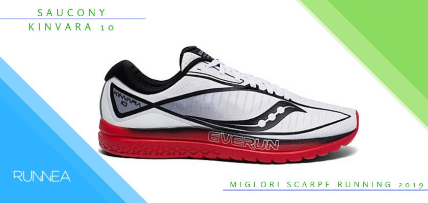 Le migliori scarpe da running 2019, Saucony Kinvara 10