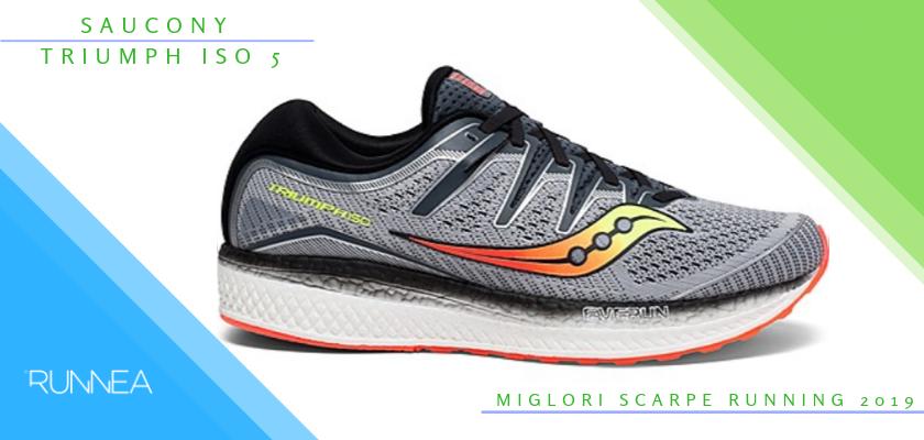 Le migliori scarpe da running 2019, Saucony Triumph ISO 5