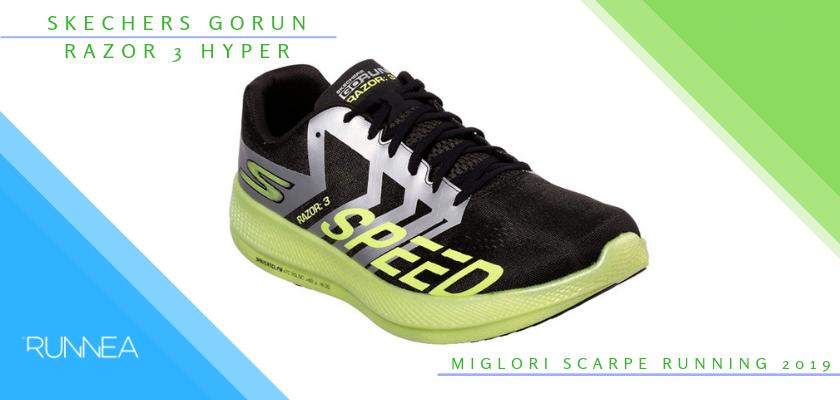 Le migliori scarpe da running 2019, Skechers GOrun Razor 3 Hyper