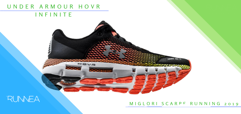 Le migliori scarpe da running 2019, Under Armour HOVR Infinite