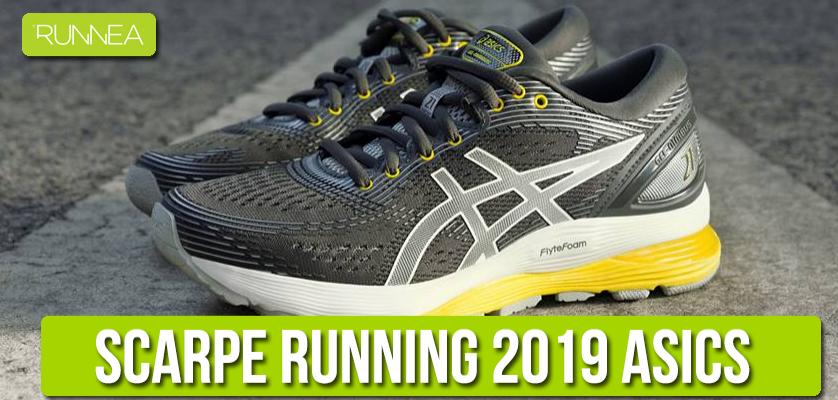 finest selection 2171b 79168 Migliori scarpe da running Asics per il prossimo 2019