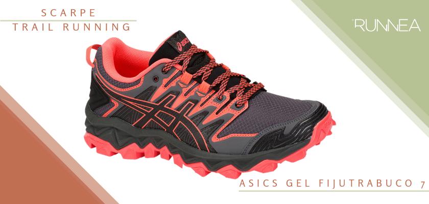 Migliori scarpe da trail running 2019,  ASICS Gel Fujitrabuco 7