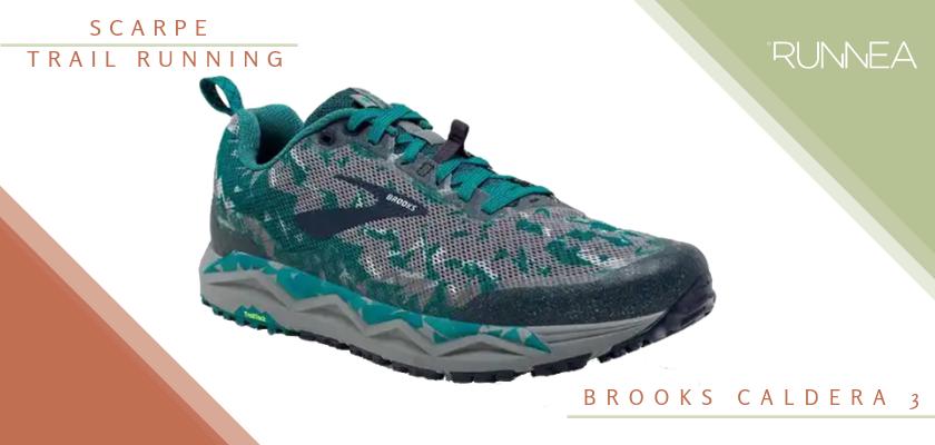 Migliori scarpe da trail running 2019, Brooks Caldera 3