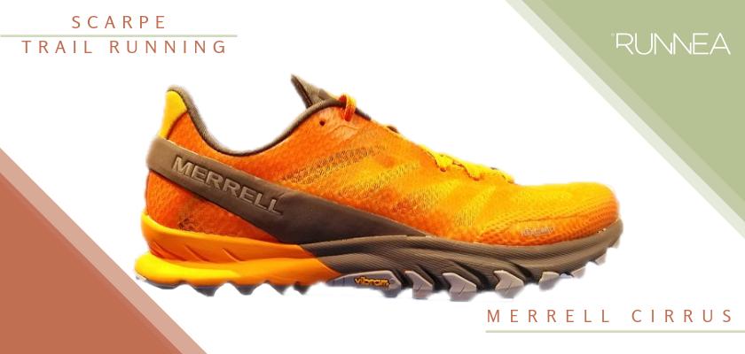Migliore scarpe da trail running 2019, Merrell Cirrus