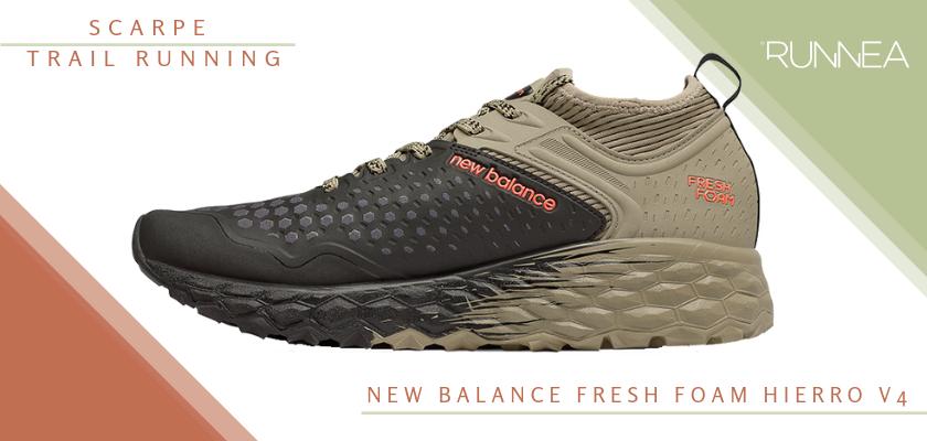 Migliori scarpe da trail running 2019, New Balance Fresh Foam Hierro v4