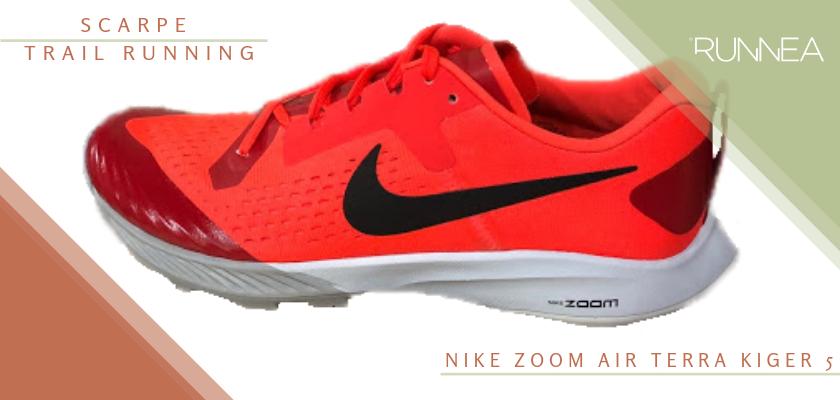 Migliori scarpe da trail running 2019, Nike Zoom Air Terra Kiger 5