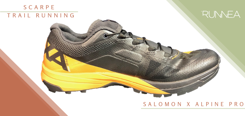 Migliori scarpe trail running 2019, Salomon X Alpine Pro